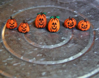 Fall Pumpkin earrings!!