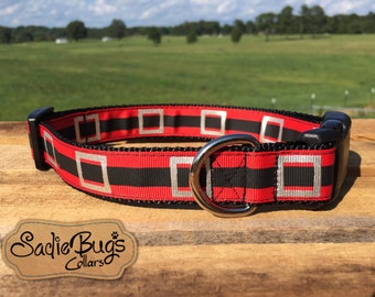 Christmas dog collar - Santa Belt