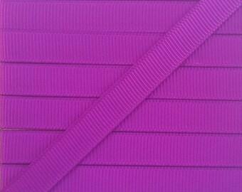 3/8 ULTRA VIOLET grosgrain ribbon