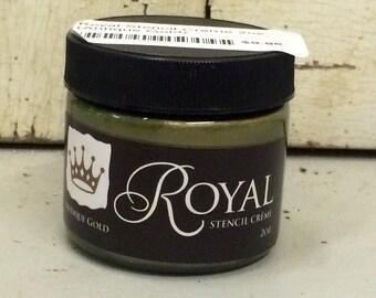 """Royal Stencil Creme """"Antique Gold"""""""