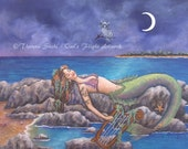 Original Painting Mermaid...