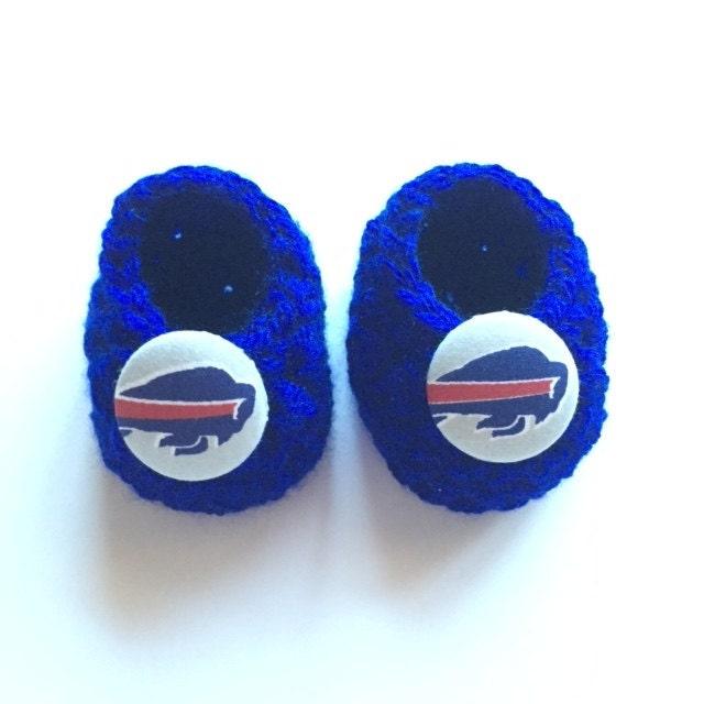 Buffalo Bills baby booties baby booties infant shoes