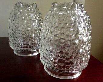 Vintage Bubble Glass Light Cover/Globe