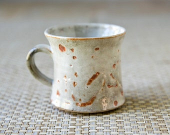 Handmade Ceramic Mug, Wheel Thrown and Handmade