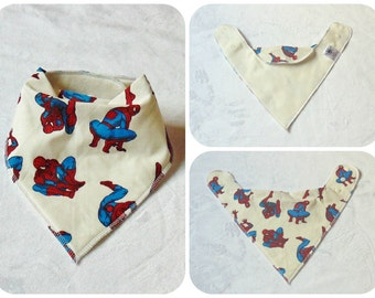 Bandana Dribble Bib // Baby Dribble Bib // Toddler Dribble Bib // Dribble Bib // Custom made to order
