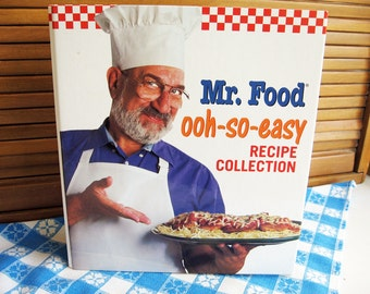 Mr food cookbook etsy mr food ooh so easy recipe collection book vol 1 forumfinder