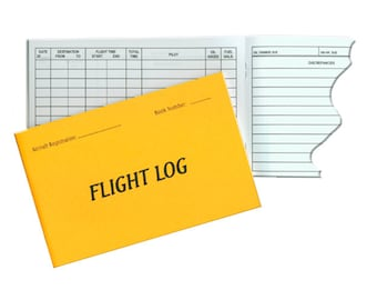 Aircraft Flight Log, Flight Record, Flying Club, Partnership, Pilot, Aircraft