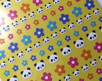 Kawaii Panda Tiny Planner Stickers - Cute from Japan