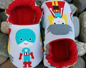 Baby Shoes Toddler Slippers Super Hero Avengers Marvel Baby Shower Gift