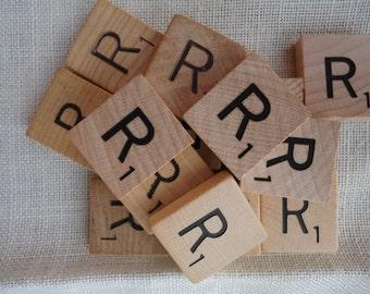 Scrabble Tile Letter R