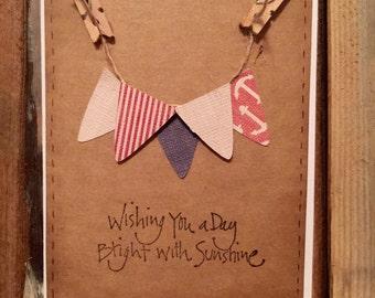 Sweet Homemade Birthday/Greeting Card