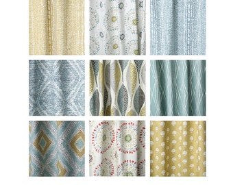 Rain collection throw pillows case // decorative pillow case // pillow sham // OR DRAPERY PANELS -1EYN