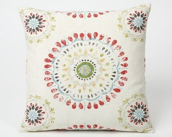 Coral Pillow // Coral Throw Pillows // Coral Decorative Pillows-1EYN