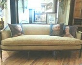 Vintage, Chenille Sofa