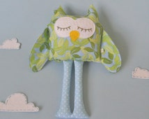 Custom Owl Plushie, Baby Wholesale, Home Decor, Stuffed Doll, Girls Throw Pillow