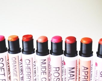 Vegan mineral lipstick, all natural lipstick, lip color, makeup, bath and beauty