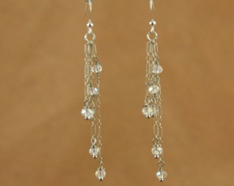 Sterling and Crystal.. YOU choose color
