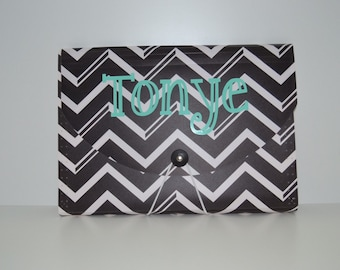 5 Pocket Accordion File Holder (personalized)
