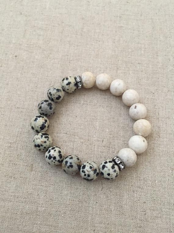 beaded bracelets stacking bracelets stretch bracelets 10mm