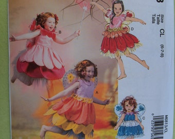 McCalls 6813 Child's Fairy Costume Pattern