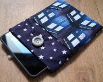 Handmade Fabric Tablet/Phone/Kindle Slip Case - Fully Customisable with your Choice of Fabric!