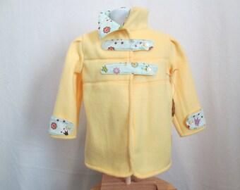 Fashion Forward Girl's Fleece Jacket  3T