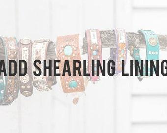 Add Shearling Lining to Collar