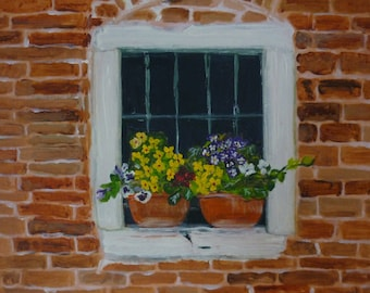 Italian Window Boxes
