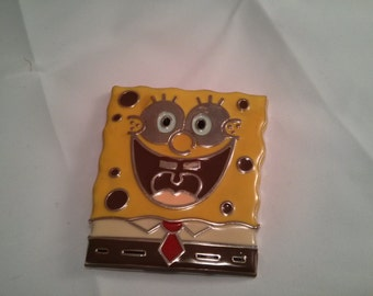 Sponge Bob metal belt buckle