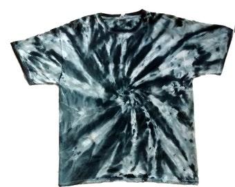 Bl;ack Shades Pinwheel Tie Dye Shirt