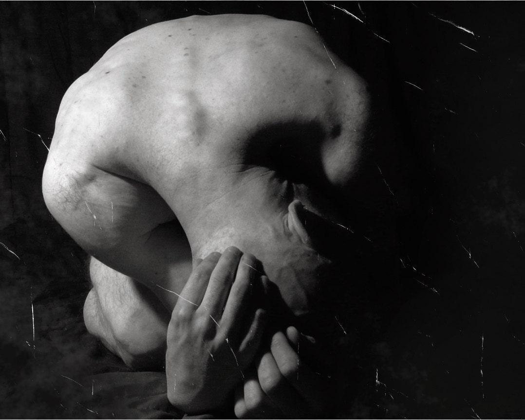 Image result for kneeling dark art