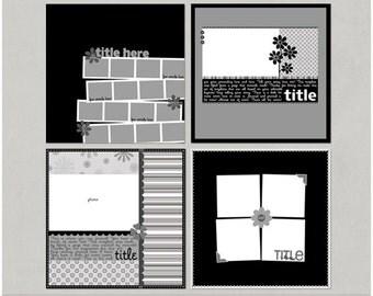 Mcturtle'icious - 12x12 Digital Scrapbooking Templates