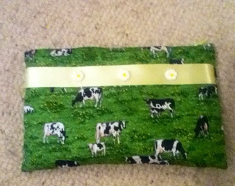 Cows and Daisies pencil case