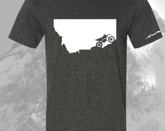 Dirtbike  Shirt Montana