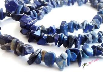 Long Necklace of Lapis lazuli
