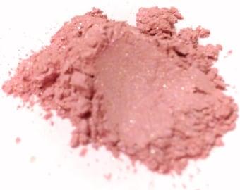 PINK TAFFETA Mineral Eye Shadow - Natural Mineral Makeup - Gluten Free Vegan Face Color