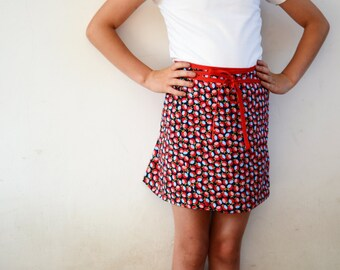 Hiekka Wrap Skirt Pattern 2y - 16y