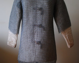 10mm butted mild steel Maille shirts