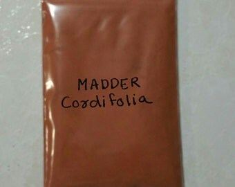 Madder root powder Rubia cordifolia natural dye 55 gram