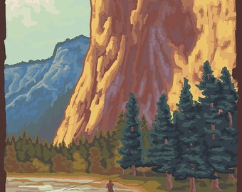 El Capitan Yosemite (Art Prints available in multiple sizes)