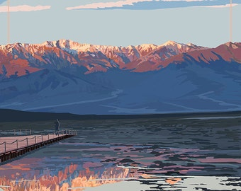 Badwater - Death Valley National Park (Art Prints available in multiple sizes)