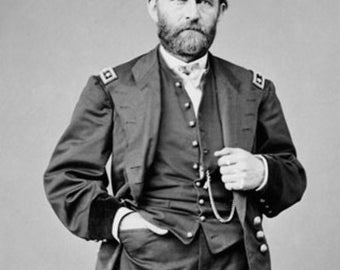 Ulysses S. Grant Photograph (Art Prints available in multiple sizes)