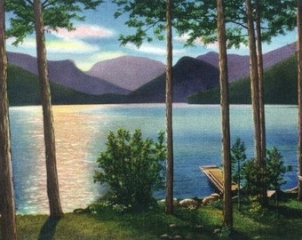 Grand Lake, Colorado - Sunrise Scene on the Lake (Art Prints available in multiple sizes)