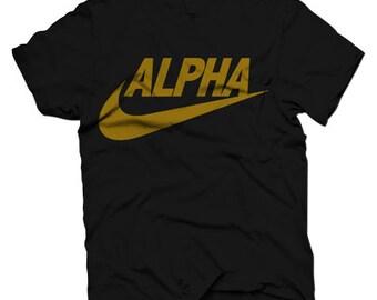 Alpha Phi Alpha Swoosh
