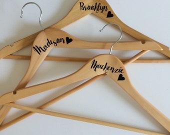 Wood Hanger Etsy - Custom vinyl decals for wood