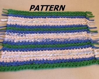 Crochet Pattern Notation : T shirt yarn pattern Etsy