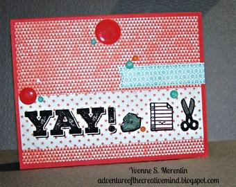 Yay!... Greeting Card