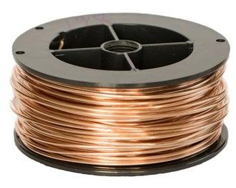 Unplated Bronze Round Wire 1.8mm x 0.5kg spool