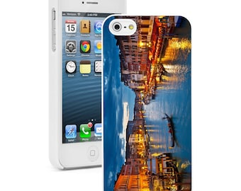 For Apple iPhone SE 4 4s 5 5s 5c 6 6s 7 Plus Hard Case Cover 161 Grand Canal in Venice