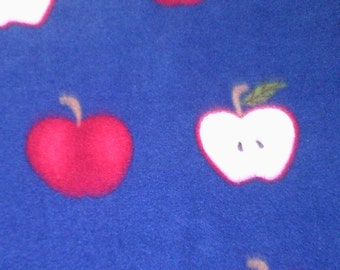 Teacher Gift Fleece Throw Apples School